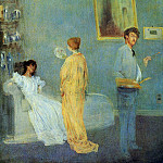 James Abbott Mcneill Whistler - Whistler_The_Artist-s_Studio