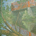 Julian Alden Weir - J Alden Weir-The Red Bridge(Unk) Po Amp 062