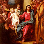 Бенджамин Уэст - West_Benjamin_Christ_Showing_A_Little_Child_As_The_Emblem_Of_Heaven