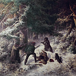 Johan Way - Bear-Hunting in the Winter