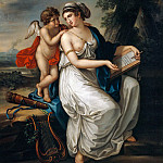 Sappho and Cupid