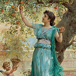 Hans Zatzka - Sweet Apple
