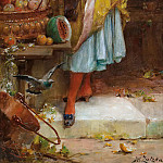 Hans Zatzka - Fruit Seller