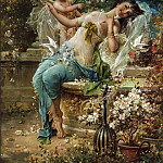 Hans Zatzka - Winning Cupid