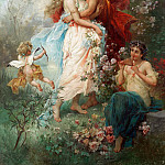 Hans Zatzka - Oath of love