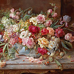 Hans Zatzka - Still Life with Flowers