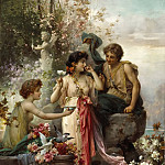 Hans Zatzka - The love offering