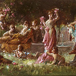 Hans Zatzka - A mythological scene