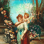 Hans Zatzka - Venus and Amor