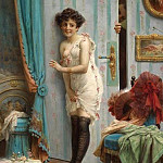 Hans Zatzka - Not to step inside