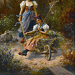 Hans Zatzka - An amusing ride