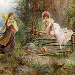 Hans Zatzka - The Berry Picker