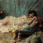 Ханс Зацка - Hans_Zatzka_Reclining_Beauty