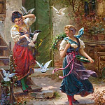 Hans Zatzka - Who others a pit digs