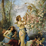 Hans Zatzka - Venus with Putti and Attendants