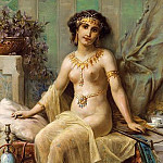 Hans Zatzka - THE ODALISQUE