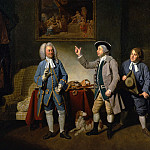 Johann Zoffany - A Scene from Love in a Village by Isaac Bickerstaffe, Act 1, Scene 2, with Edward Shuter