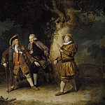 David Garrick as Lord Chalkstone, Ellis Ackman as Bowman and Astley Bransby as Aesop