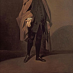 Johann Zoffany - Portrait of John Moody (c.1712-1821) as Father Foigard in the Beaux Stratagem by George Farquhar