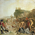 Johann Zoffany - The Death of Captain James Cook 14th February 1779