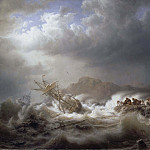 Unknown painters - Shipwreck