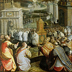 Giulio Romano - Procession of Saint Gregory the Great