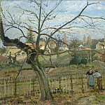 Camille Pissarro - The Fence, National Gallery of Art (Washington)