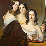 Thomas Sully - The Coleman Sisters, National Gallery of Art (Washington)