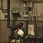 Jean-Baptiste-Camille Corot - The Artist's Studio, National Gallery of Art (Washington)