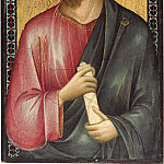 Follower of Cimabue - Christ between Saint Peter and Saint James Major [right panel], National Gallery of Art (Washington)
