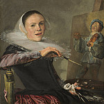 Self-Portrait, Judith Leyster