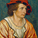 Attributed to Hans Holbein the Younger - Portrait of a Young Man, National Gallery of Art (Washington)
