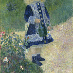 Auguste Renoir - A Girl with a Watering Can, National Gallery of Art (Washington)