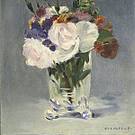 National Gallery of Art (Washington) - Edouard Manet - Flowers in a Crystal Vase