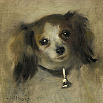 Auguste Renoir - Head of a Dog, National Gallery of Art (Washington)