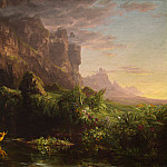 Thomas Cole – The Voyage of Life: Childhood, National Gallery of Art (Washington)