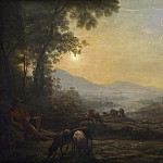 Follower of Claude Lorrain - The Herdsman, National Gallery of Art (Washington)