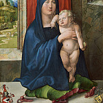 Albrecht Durer - Madonna and Child [obverse], National Gallery of Art (Washington)