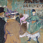 Henri de Toulouse-Lautrec - Quadrille at the Moulin Rouge, National Gallery of Art (Washington)