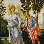 Filippino Lippi - Tobias and the Angel, National Gallery of Art (Washington)