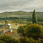 National Gallery of Art (Washington) - Theodore Rousseau - Panoramic View of the Ile-de-France