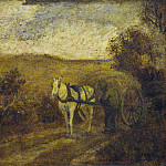 Albert Pinkham Ryder - Mending the Harness, National Gallery of Art (Washington)