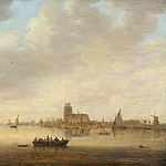 Jan van Goyen - View of Dordrecht from the Dordtse Kil, National Gallery of Art (Washington)