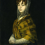 Francisco de Goya - Senora Sabasa Garcia, National Gallery of Art (Washington)