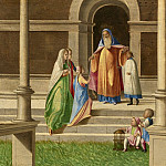 Benedetto Diana - The Presentation and Marriage of the Virgin, and the Annunciation, National Gallery of Art (Washington)