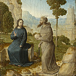Juan de Flandes - The Temptation of Christ, National Gallery of Art (Washington)