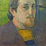 Paul Gauguin - Self-Portrait Dedicated to Carriere, National Gallery of Art (Washington)