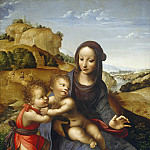 Attributed to Fernando Yanez de la Almedina - Madonna and Child with the Infant Saint John, National Gallery of Art (Washington)