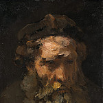 Follower of Rembrandt van Rijn - Head of Saint Matthew, National Gallery of Art (Washington)