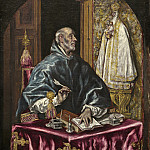 El Greco - Saint Ildefonso, National Gallery of Art (Washington)
